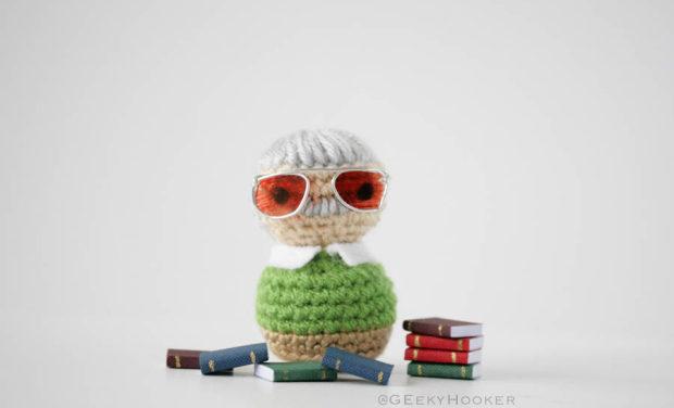 The Geeky Hooker's Stan Lee Amigurumi!