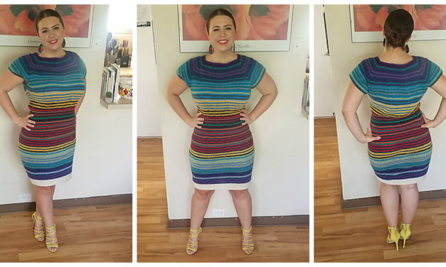 Forget Blankets, Crochet a Temperature DRESS! It's Fabulous and the Pattern is FREE!