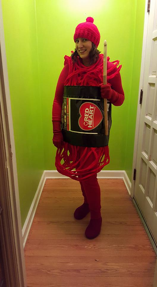 Idea Alert! Natalie Joy Kenda's Genius DIY Yarn Skein Costume