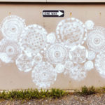 The Proliferation of Doily Spray Art … Here's a Great One By The Rock Vandal!