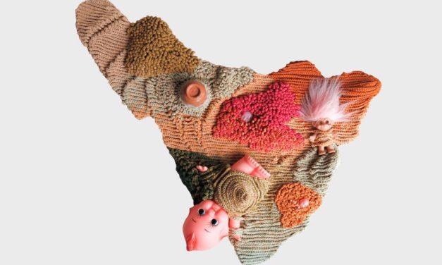 Crochet Art By Kllylmrck: 'I Walked A Landscape With My Fingers: Drown'