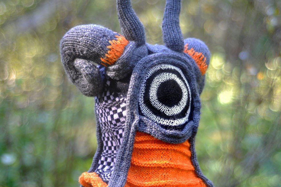 Strange and Sublime – New Knitted Mask By the Talented Tracy Widdess