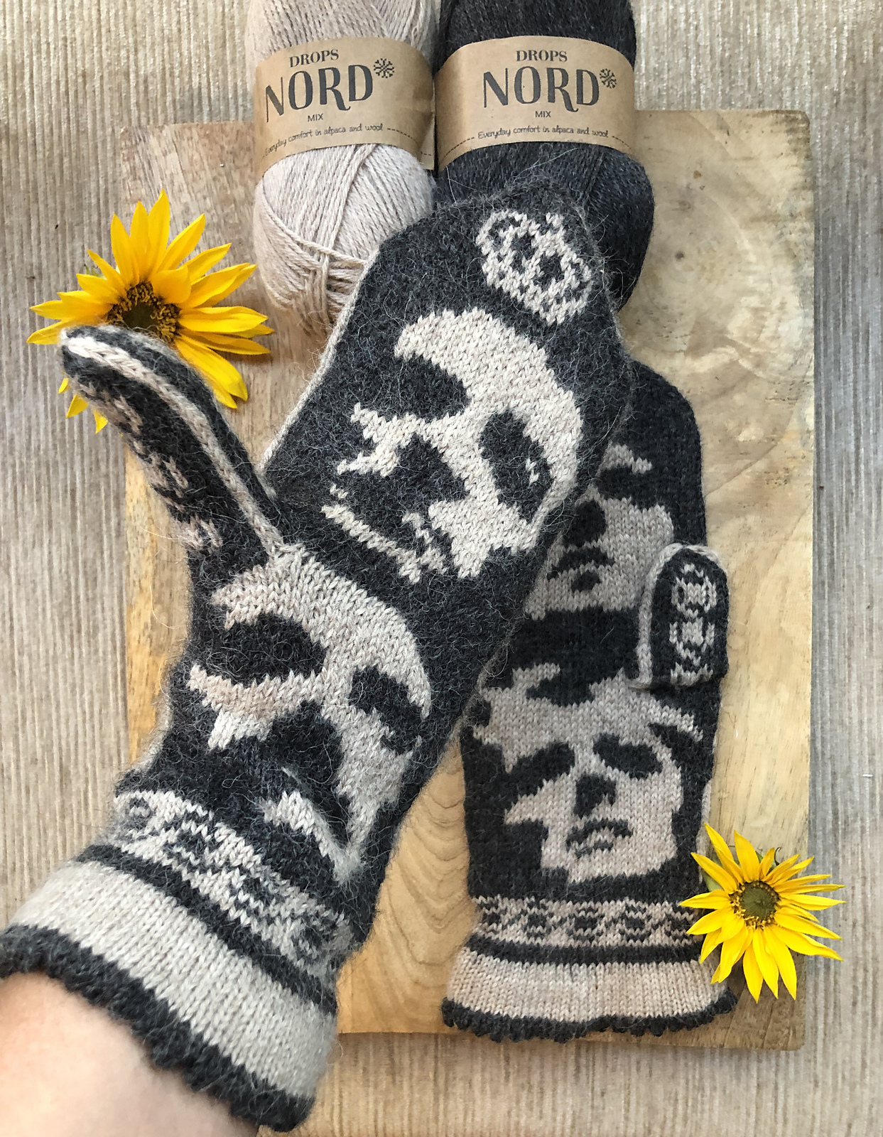 Knit a Pair of Queen-Inspired Mittens, Designed By Lotta Lundin
