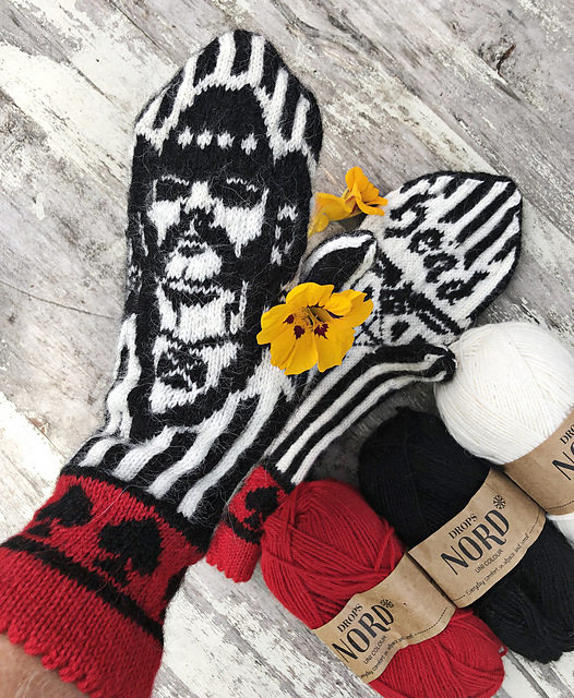 "Knit a Pair of Motörhead Mittens, Featuring 'I Don't Do Regrets"" Lemmy Kilmister"