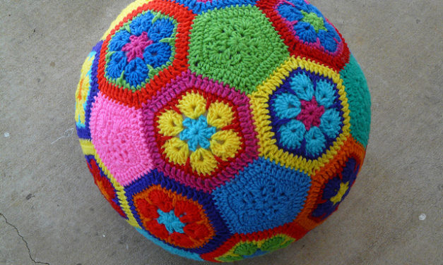 Crochet an African Flower Soccer Ball … FREE Pattern!