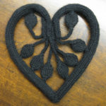 Knit a Cast Iron Heart With a Free Pattern … Very Unique!