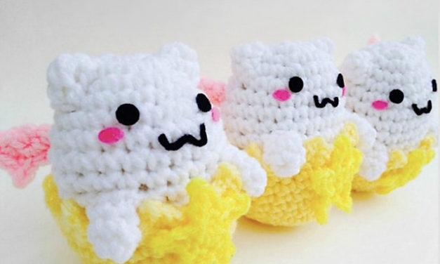 Crochet a Tamadra Amigurumi, Free Pattern by Ami Amour