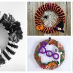 Designer Spotlight: Fun & Funky, Sometimes Spooky, Halloween Wreaths For Crocheters