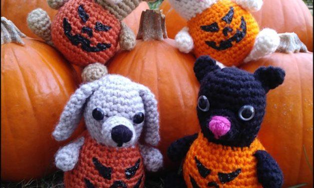 Bears, Dogs & Bunnies Re-Imagined as Perky Plump Pumpkins … They're Pumpkin Critters!