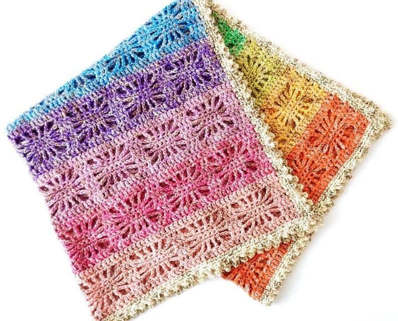 Crochet a Fun & Colorful Rainbow Spirit Baby Blanket