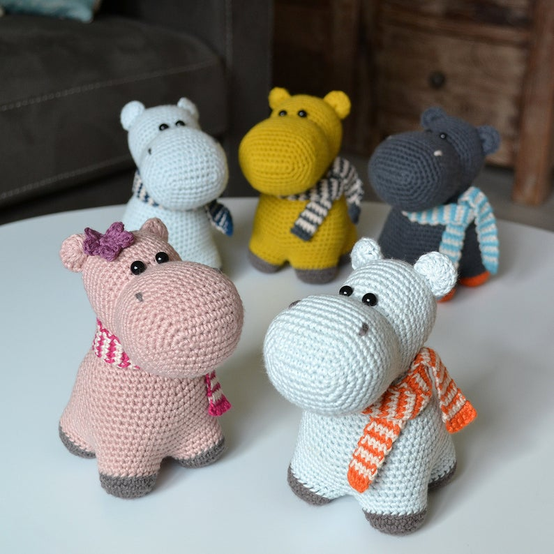 Get the patterns, designed Agatha of A Crazy Sheep #crochet