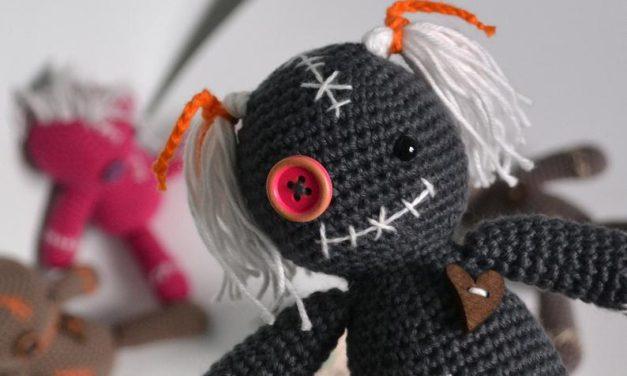 Crochet a Cute Voodoo Doll Amigurumi … Just In Time For Halloween!