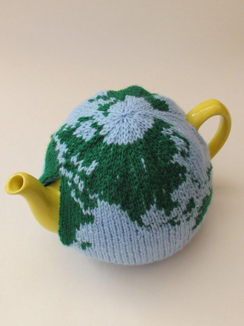 Designer Spotlight: Unusual Tea Cosy Patterns For Knitters, Designed By Susan Cowper of Tea Cosy Folk