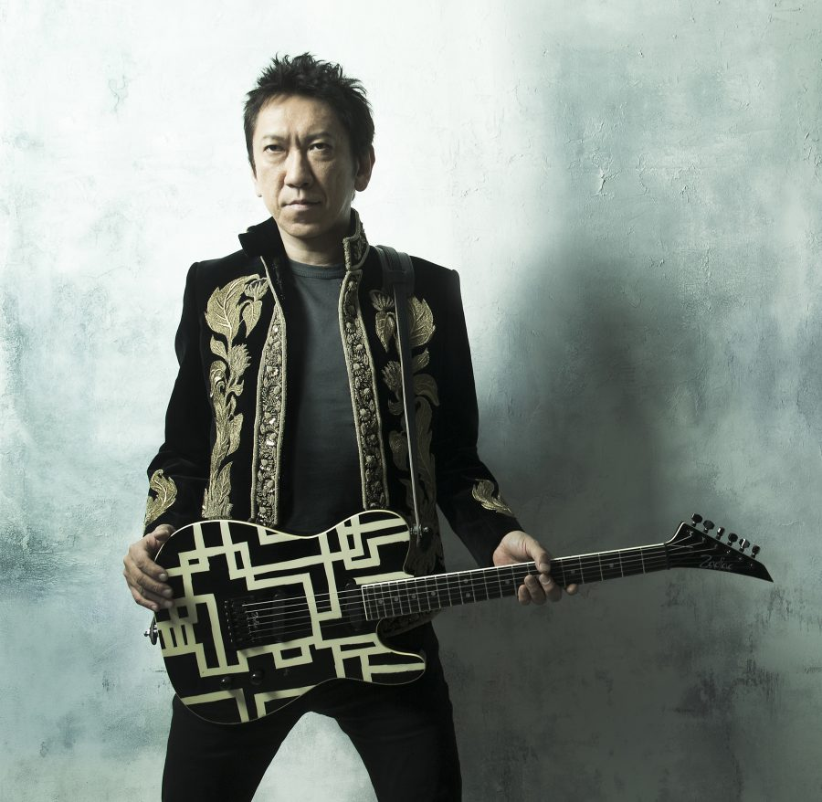 He Knit The Famous Guitar Of Japanese Guitar Legend Tomoyasu Hotei