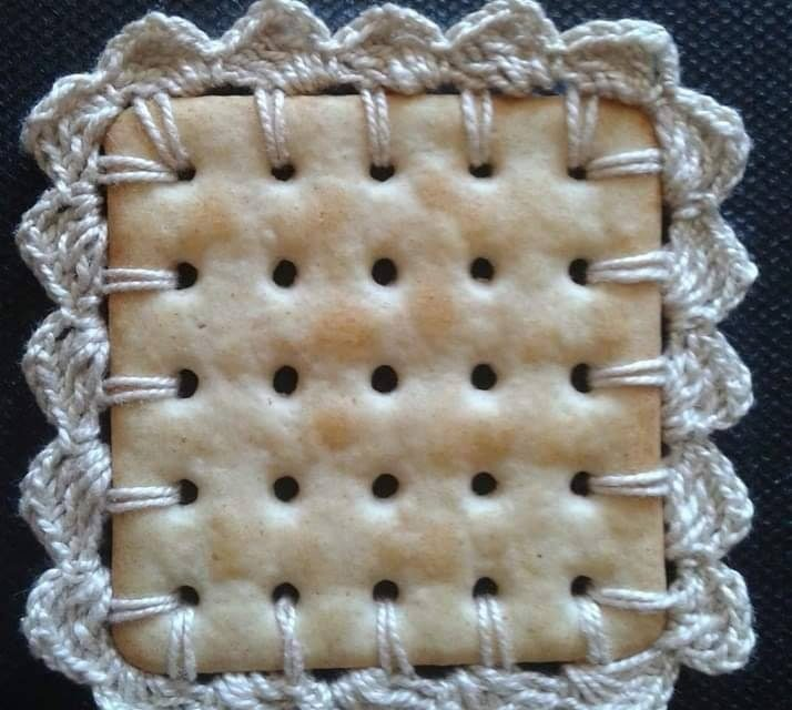 The Delicate Nature Of Crocheting On A Cracker … Some May Even Say Questionable … But Not Me