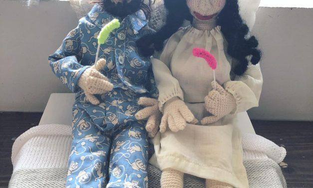Bed-Ins For Peace: NekoKnit's Crochet John Lennon & Yoko Ono Amigurumi