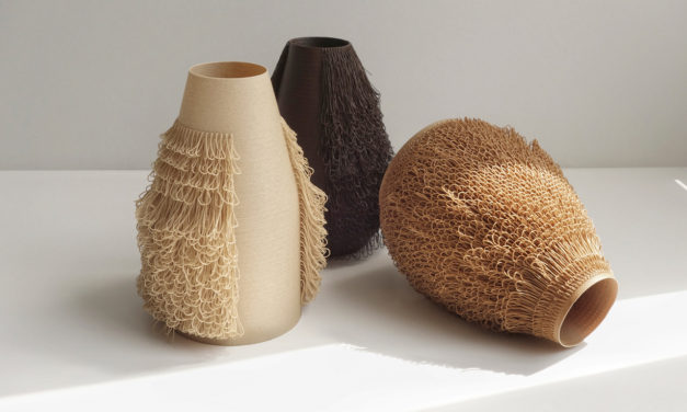 You've Never Seen Vases So Loopy! They're 3D-Printed and They Have Hair!