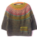 Knit a Fun & Folksy Chaparral Sweater Designed By Heidi Reszies of Folk City Studio