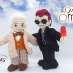 Aziraphale & Crowley … Good Omens Amigurumi By Kdenetas