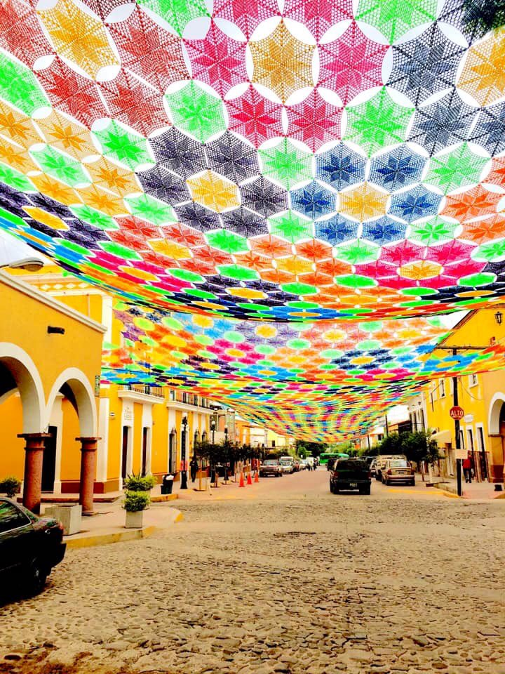 This Is What The World's Largest Crochet Canopy Looks Like