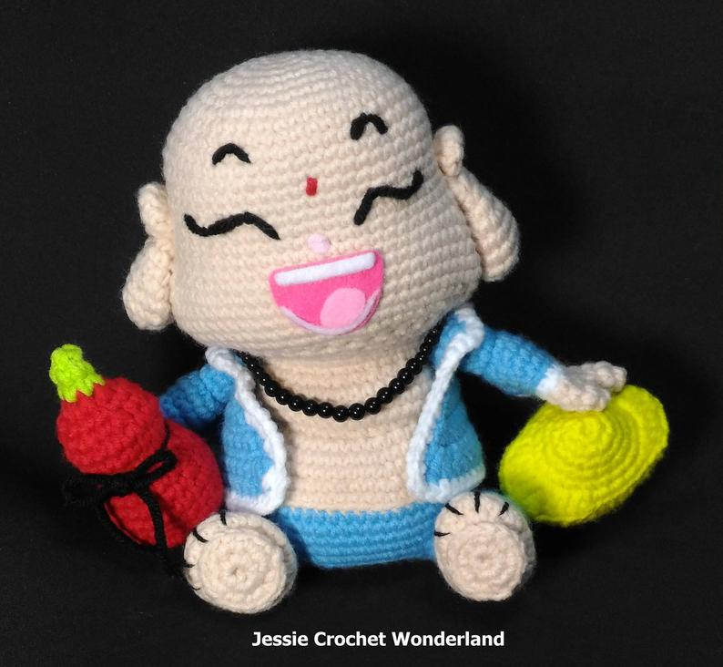Get the pattern from Jessie Lin of Crochet Wonder Designs