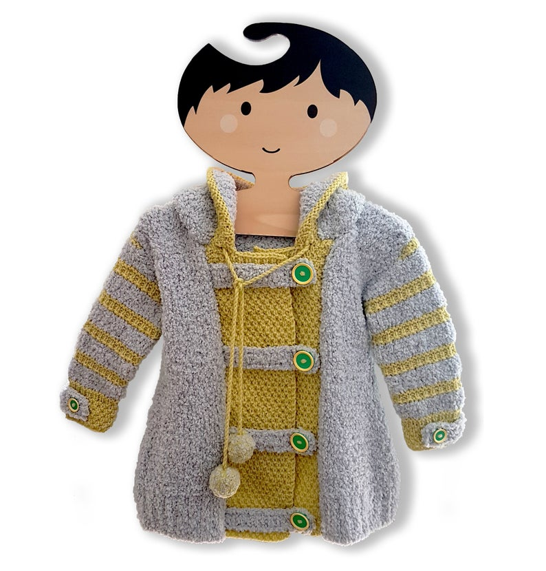 Cute Hoodie Alert ... Unique Knitwear That's Colorful & Fun ... I Want One!