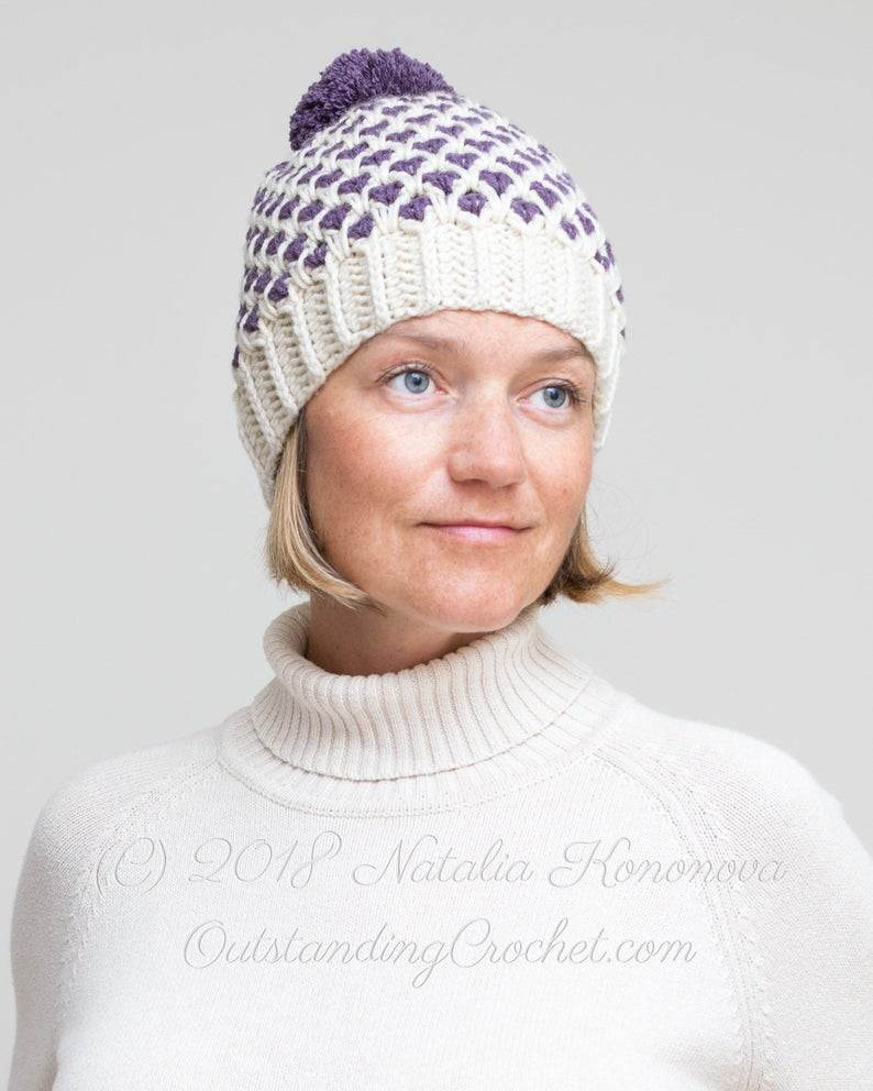 Get the crochet pattern, designed by Natalia of Outstanding Crochet #crochet
