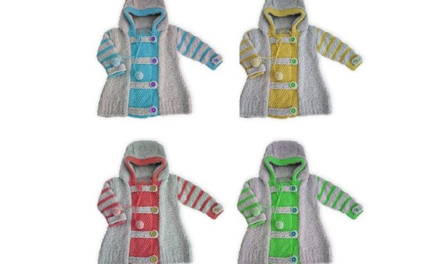 Cute Hoodie Alert … Unique Knitwear That's Colorful & Fun … I Want One!