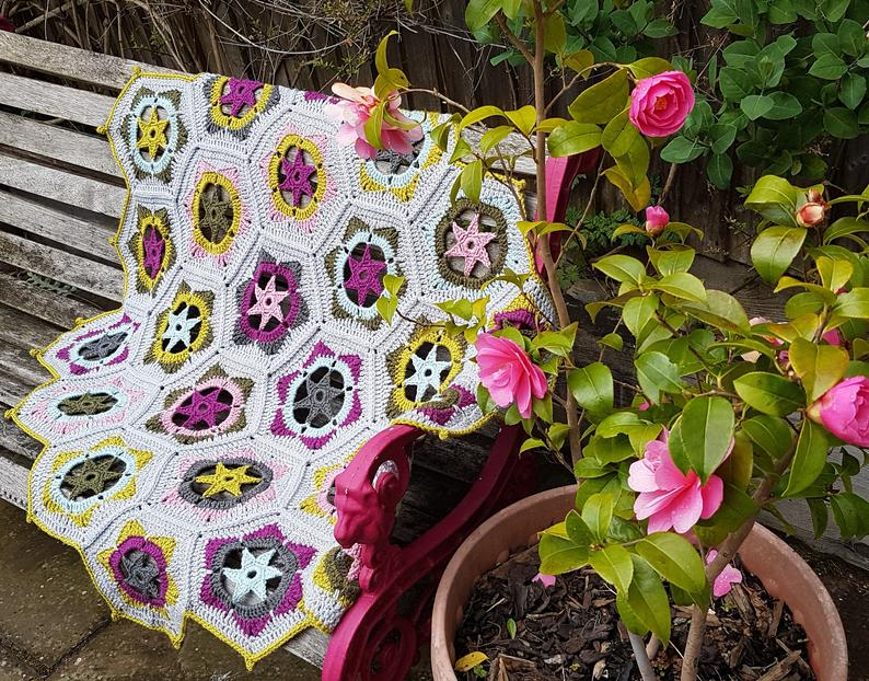 Get the pattern, designed by Esme of Red Sparrow Crochet