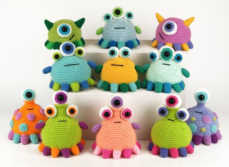 Adorable Amigurumi Alert! Tippy Toe Monsters By Moji-Moji Design