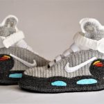Happy Back To The Future Day, You Need Marty McFly's Air Mag Hoverboard Slippers To Mark The Day – They're Crocheted!