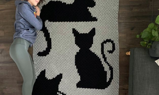 Crochet a Covered In Cats Afghan … It's PURRRRRRFECT!