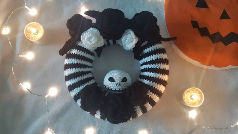 Crochet a Jack Skellington-Inspired Project For The Halloween Season!
