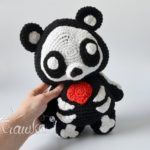 Crochet a Skeleton Teddy Bear Amigurumi!