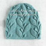 Crochet a Gorgeous 3D Textured 'Climbing Vine Beanie'
