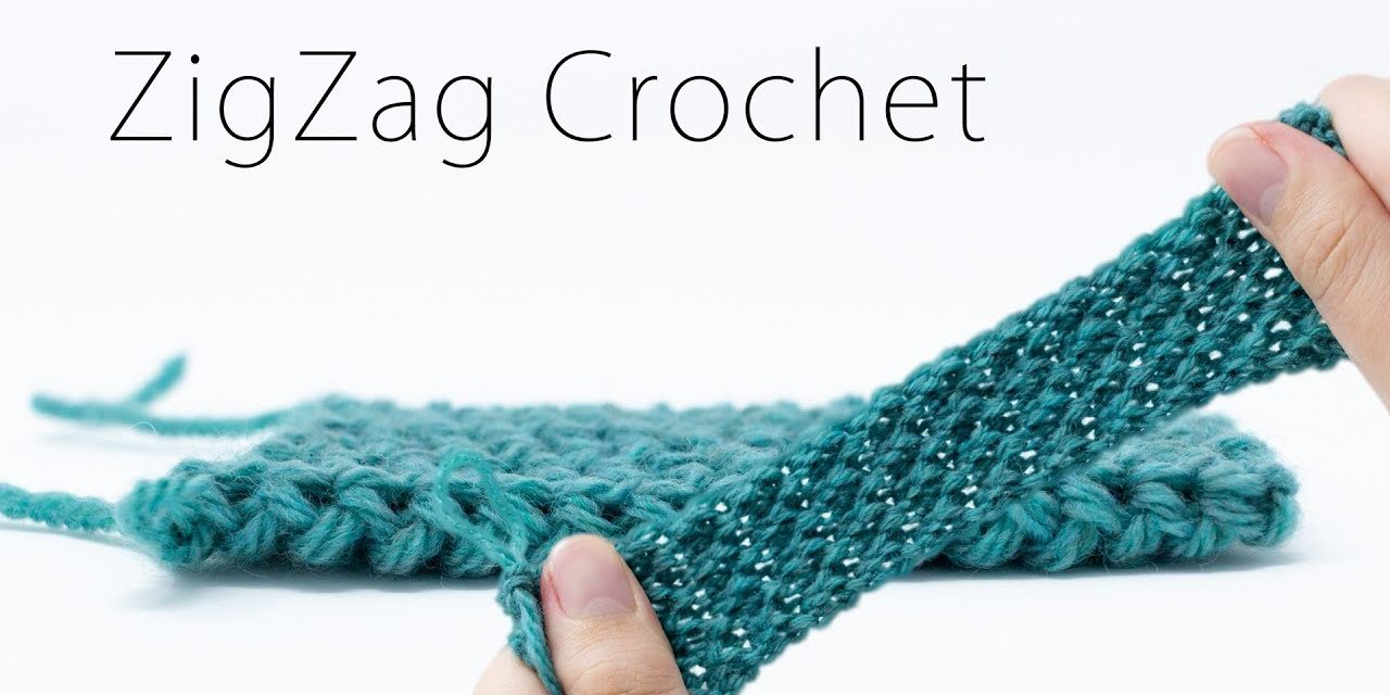 How To Crochet A Stretchy Fabric … This Technique Is Amazing!