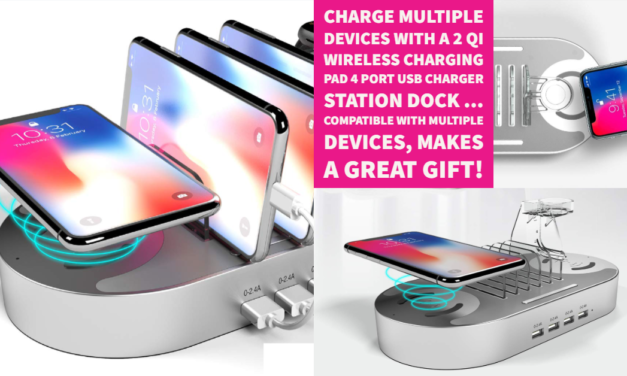 Need a Holiday Gift For Someone Who Has Everything? Check Out My Review of the 2 QI Wireless Charging Pad