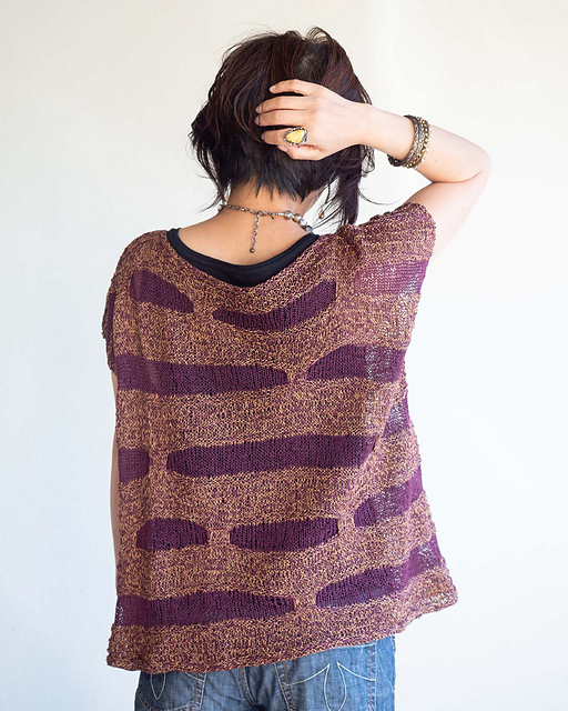 Knit a Unique Sweater, 'Ko-michi' Designed By Yumiko Alexander