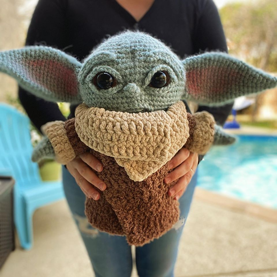 The Best Baby Yoda Patterns For Makers Who Crochet Dolls