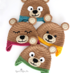 Crochet a Cutie-Pie Bear Hat For a Special Kid On Your List