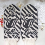 Knit a Pair of Rolling Stones-Inspired Mittens, Designed By Lotta Lundin