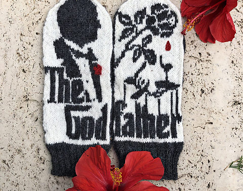 Knit a Pair of Magnificent Mittens Inspired By The Godfather, Designed By Lotta Lundin