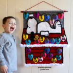 Crochet a Snoopy Advent Calendar For Christmas With a Fun FREE Pattern From Crochetverse