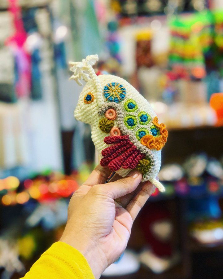 This Crochet Daphnia Amigurumi Is Incredible