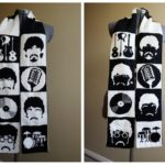 Double-Knit 'All You Need Is Yarn' Beatles Scarf Designed By Tess Campbell