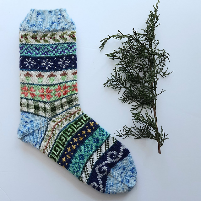Pace Yourself ... Knit a Pair of Advent Socks With This FREE Pattern!