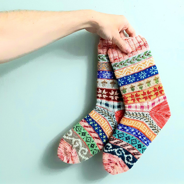 Pace Yourself … Knit a Pair of Advent Socks With This FREE Pattern!