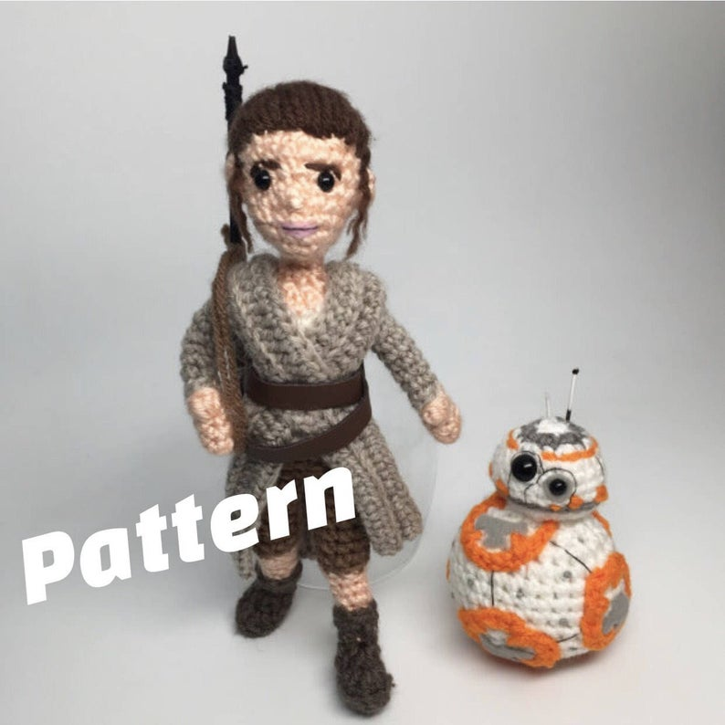 Pattern By Crafty Is Cool #crochet #StarWars #amigurumi
