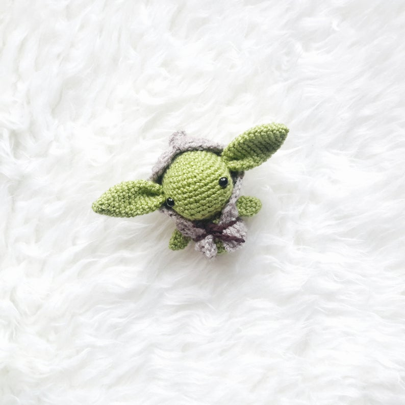The Best Baby Yoda Patterns For Makers Who Crochet! Dolls, Ornaments, Amigurumi and More ...