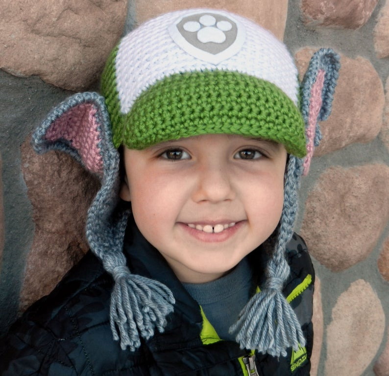 7 Perky Paw Patrol Hat Patterns For Crocheters! Paw Patrol, Paw Patrol
